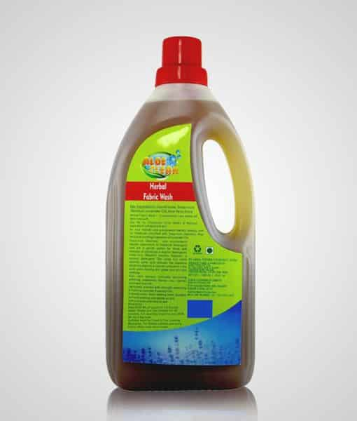aloe vera aloe clean herbal fabric wash 1 litre pack image 1 - 510 x 600