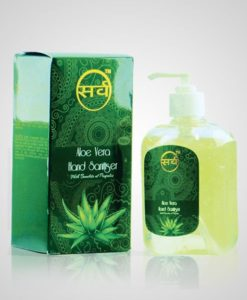 sarv aloe vera hand sanitizer 250 ml pack image 2 – 510 x 600