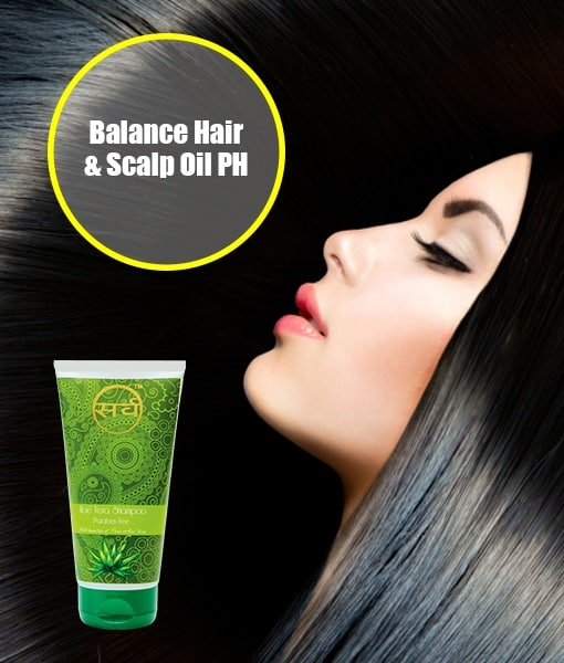 sarv aloe vera shampoo for balanced hair and scalp oil PH - 510 x 600