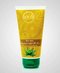 aloe vera sunscreen lotion 150 ml - 510 x 600