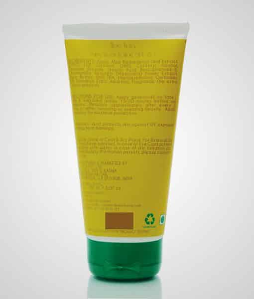 aloe vera sunscreen lotion 150 ml image 1 - 510 x 600