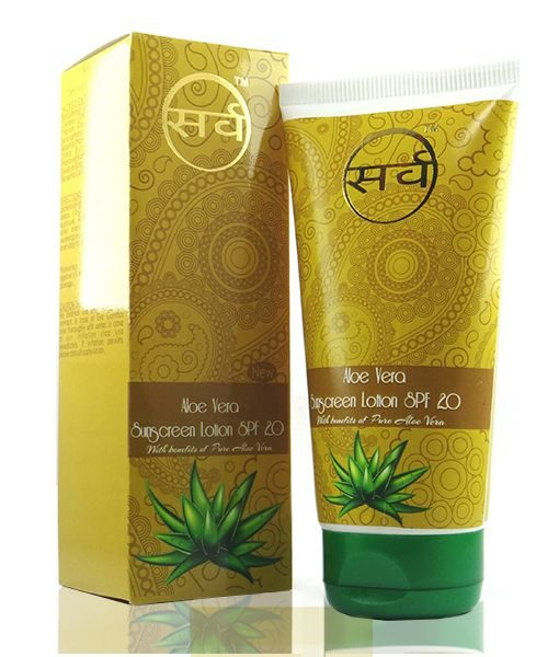 aloe vera sunscreen lotion 150 ml image 2 - 510 x 600
